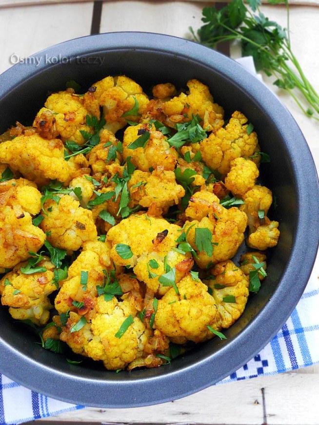 kalafior z curry