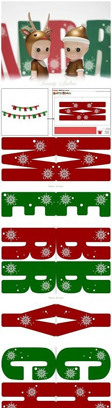 Christmas Decoration Idea - Christmas Banner