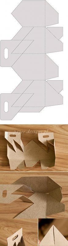 Potrzebne: Wydrukowany wzór Nożyczki *Taśma klejąca (jeśli chcesz aby lepiej się trzymało) Wykonanie: Wytnij wzór. Poskładaj.