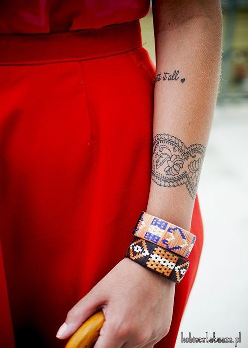 Tatuaż Bransoletka Na Tatuaże Zszywkapl