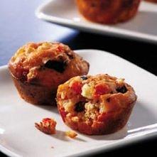 Mini Greek Pizza Muffins