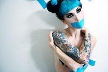 niebieska lady .