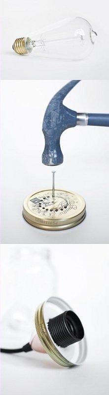 Jak zrobić lampę ze słoika i nie tylko ;] Umieściłam nowe propozycje na DIY n...