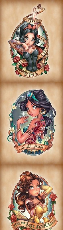 Tattooed Pinup Girls