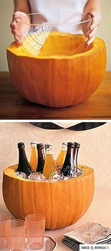 Chlodzone napoje prosto z dyni