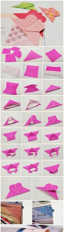 Origami_book mark