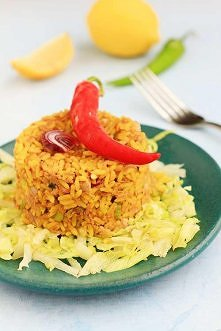Nie wyrzucaj jedzenia - ryż smażony z tuńczykiem