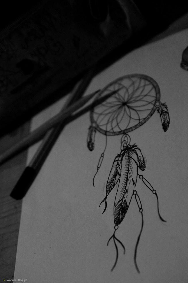 łapacz Snów Wzór Na Tatuaże Zszywkapl