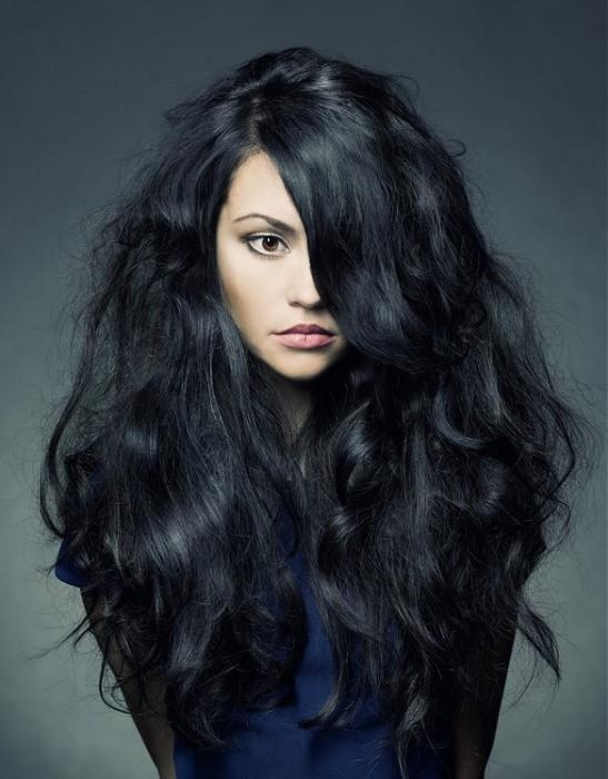 Puszyste Czarne Włosy Na Moje Fryzury Zszywkapl