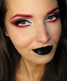 intrygujący makijaż ;)