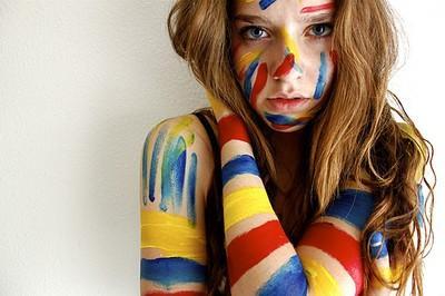 Interesuję się sztuką  I am interested in art