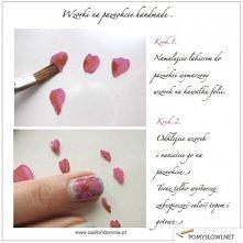 płatki na paznokciach