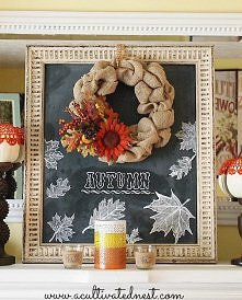 jesienna tablica