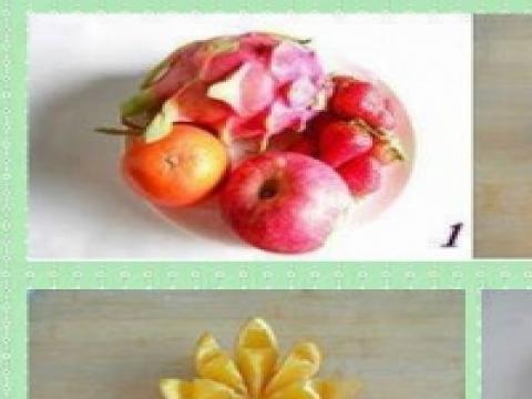 Pomysl na... genialne podanie owocow