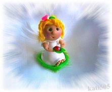 Śliczny aniołek, upominek :)