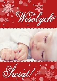 Piękna kartka na Boże Narodzenie (na Card and Art możesz wkleić własne zdjęcie)