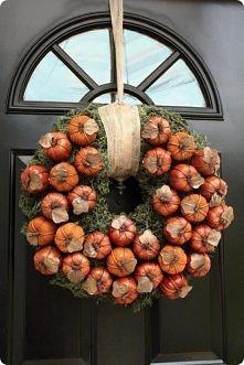 Aby zrobić jesienny wianusz...