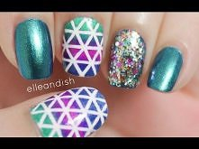 Geometric Nails (Choose Striping Tape or Freehand)