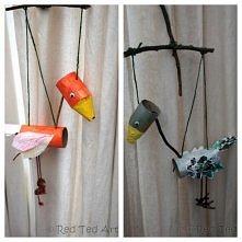 marionetki DIY dla dzieci