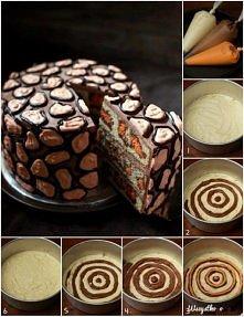 ciasto w centki