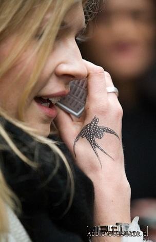 Jaskółka Na Tattoo Zszywkapl