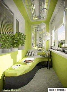 Pomysł na zagospodarowanie balkonu