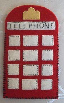 Filcowe etui na telefon- An...