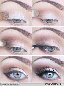 Śliczny makijaż oka <3