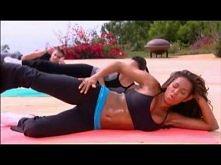 Mel B - Trening na pośladki __ Pozornie łatwe ćwiczenia, dające zadziwiające efekty. Po 1 treningu już czuć prace mięśni.