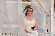 Marta w sukni ślubnej Pronovias Distel | fot. Arek Gmurczyk