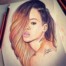 Rysunek Rihanna