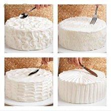 nie wiesz jak udekorować ciasto ? teraz już wiesz ;) !