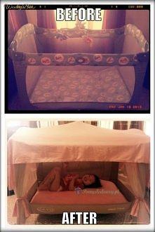 nie wyrzucaj dziecięcego łó...