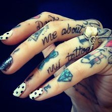 Hand tatto <3