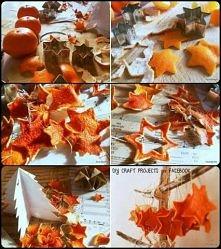gwiazdki z pomarańczy