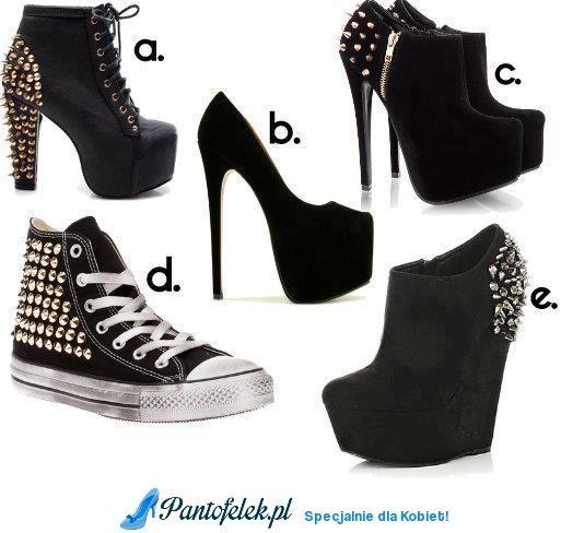 Ostre buty. Które najbardziej trafiają w Wasz gust? :)
