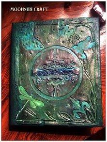 Księga,notatnik, dziennik pamiętnik.. to wszystko w jednym od MoonSun Craft