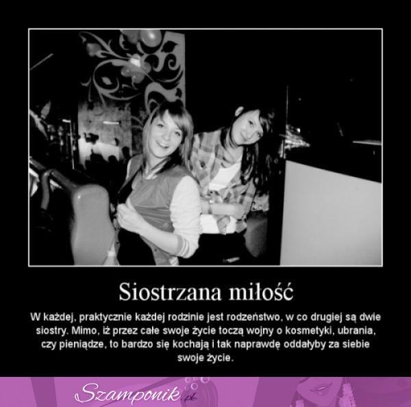 cytaty o siostrzanej miłości siostrzana miłość na Mój styl   Zszywka.pl cytaty o siostrzanej miłości