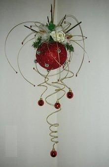 ozdobna kula na Boże Narodz...