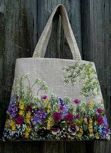 torebki haftowane wstążkami