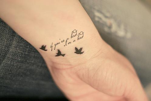 Na Nadgarstku Love It Na Tatuaże Zszywkapl