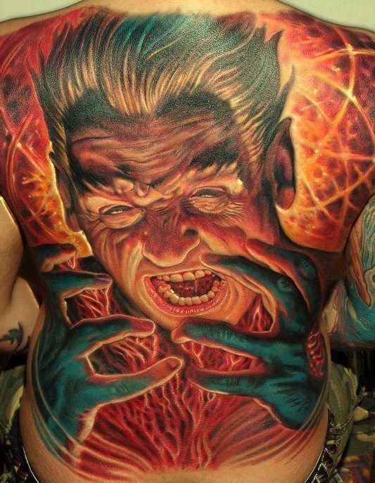 Najlepsze Tatuaże Jakie Widziałem Na Fotografie Zszywkapl