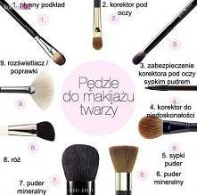 Pędzle do makijażu ;)