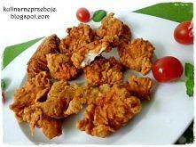 Strips KFC - to pyszne kawałki piersi z kurczaka w specjalnej, chrupiącej pan...