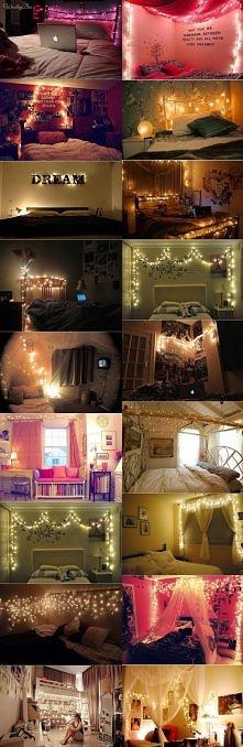 Światełka w pokoju