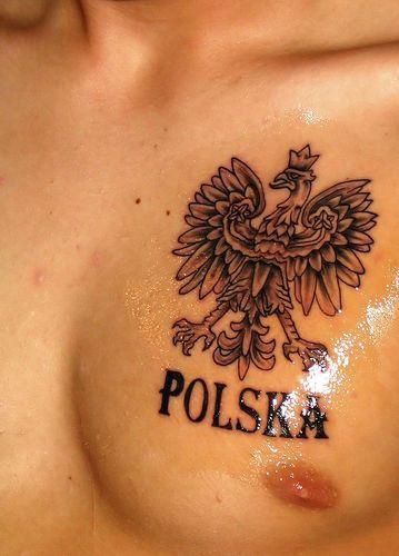 Polska Tatuaż Z Orzełkiem Na Wzory Tatuaży Zszywkapl