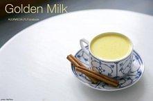 Złote mleko  1 kubek mleka ...