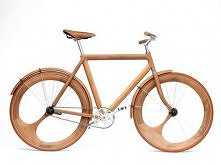 rower drewniany