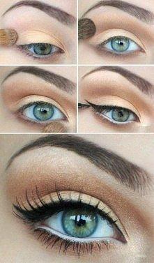 Kilka krokow do wykonania dziennego makijazu.