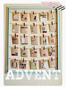 Kalendarz adwentowy koperty